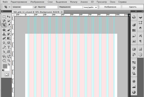 grid360 framework photoshop шаблон для фреймворка