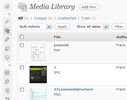upload-filter загружаем нужный тип MIME файлов в WordPress