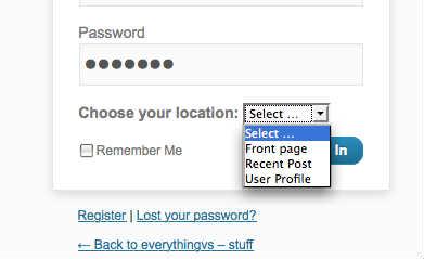 wordpress user redirect. Перенаправление пользователей