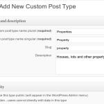 Создайте WordPress пользовательских типов данных