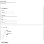 CRED – Front-End Создание и редактирование содержимого WordPress Пример формы