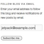Подписка Jetpack