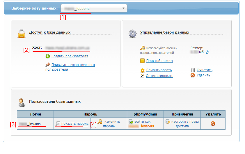 Создание базы данных шаг 4 Записываем данные