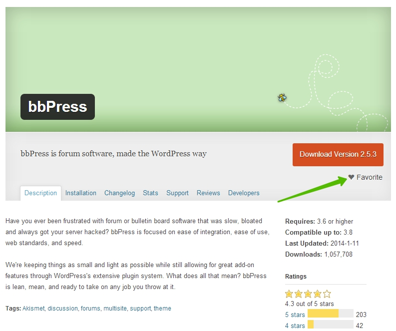 favorite wordpress plugins - избранные плагины