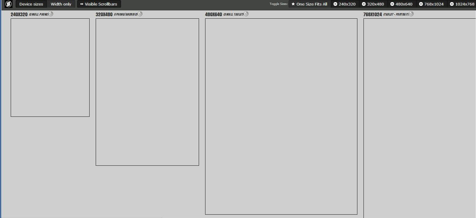 Responsive Page Tester размеры адаптивных экранов