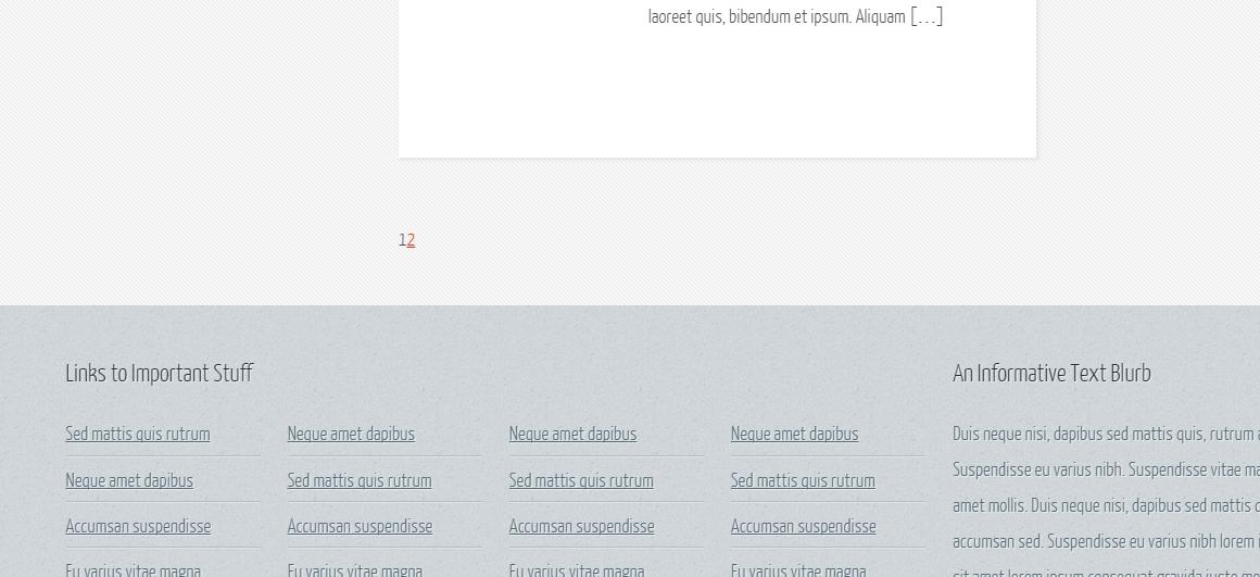wordpress page navigation code - уроки wordpress