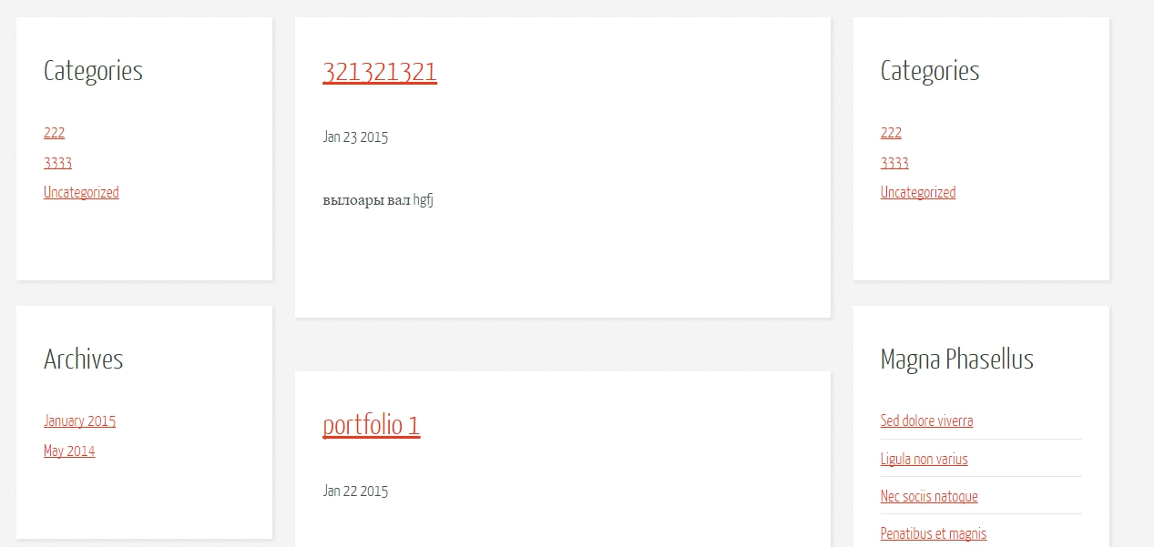 wordpress portfolio taxonomy
